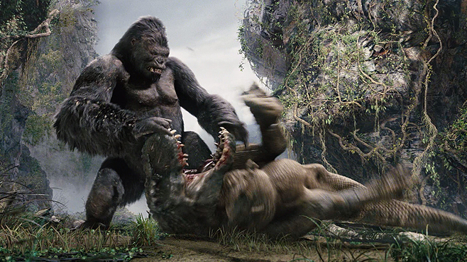 Beauty Killed The Beast In Movie Of Year King Kong 2005